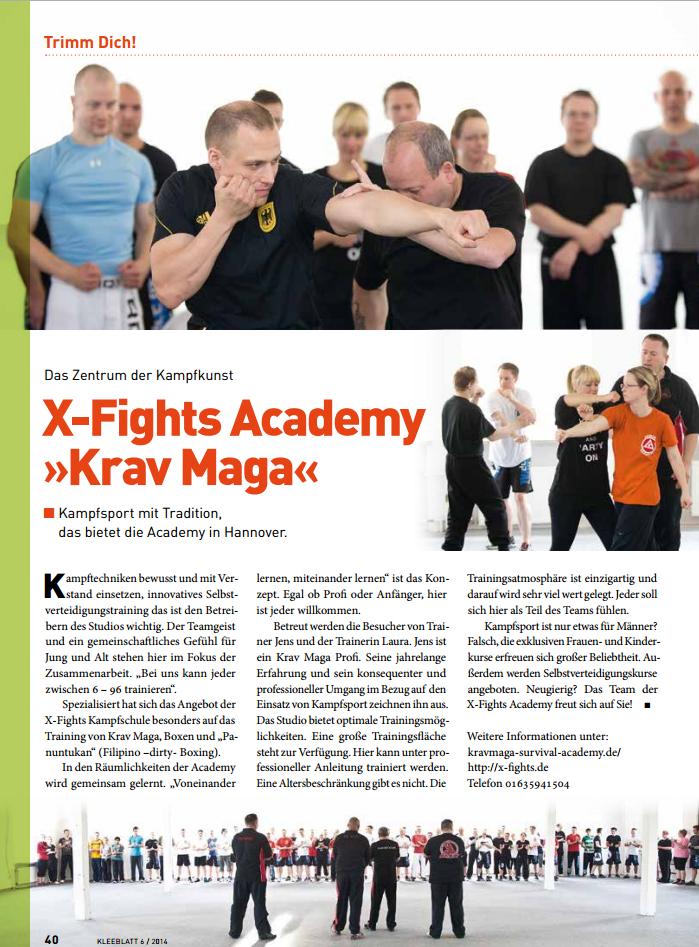 krav maga und x-fights in hannover